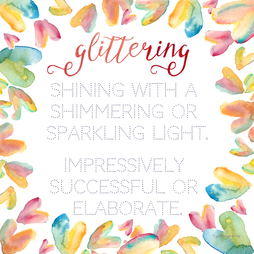 Be your most glittering self