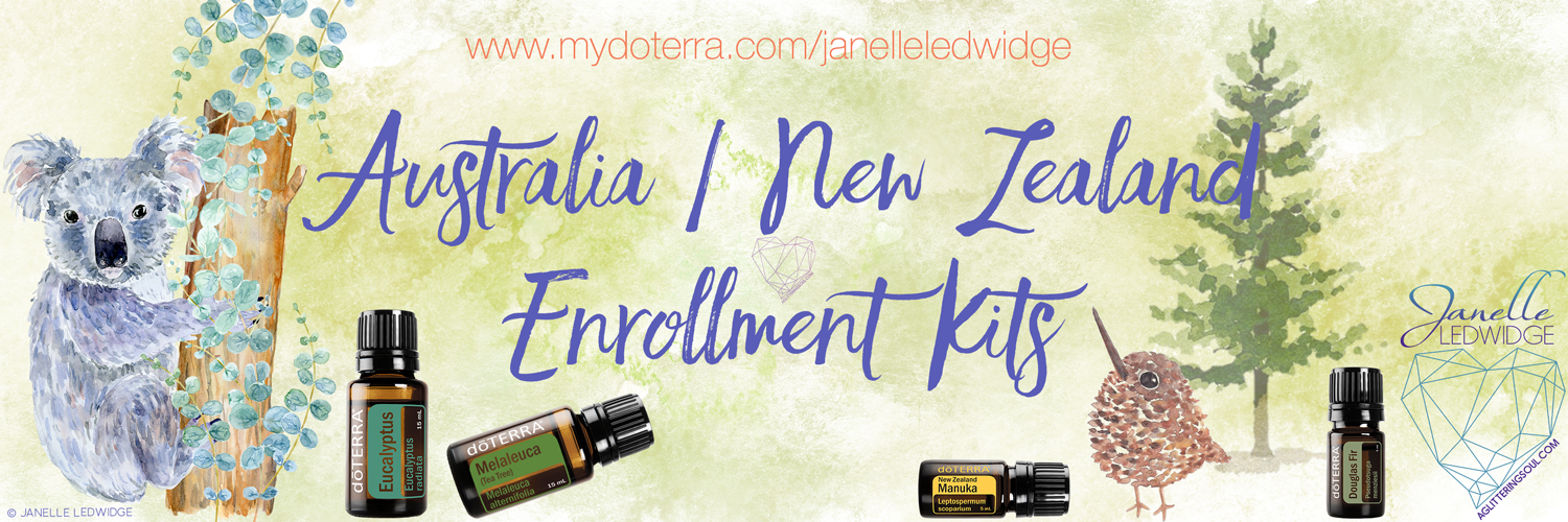 Janelle Ledwidge Australian New Zealand doTERRA Enrollment Kits