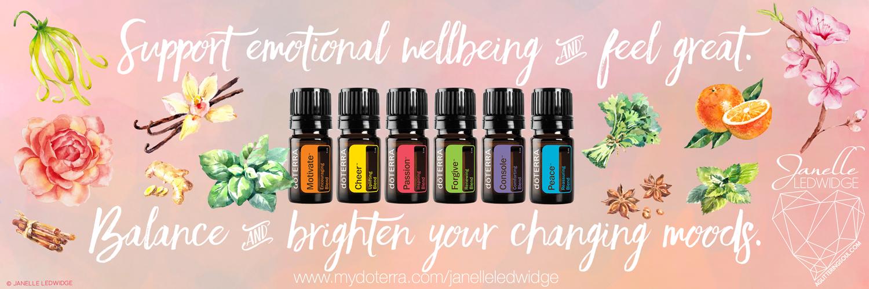 Janelle Ledwidge doTERRA Emotional Aromatherapy Essential Oils Banner