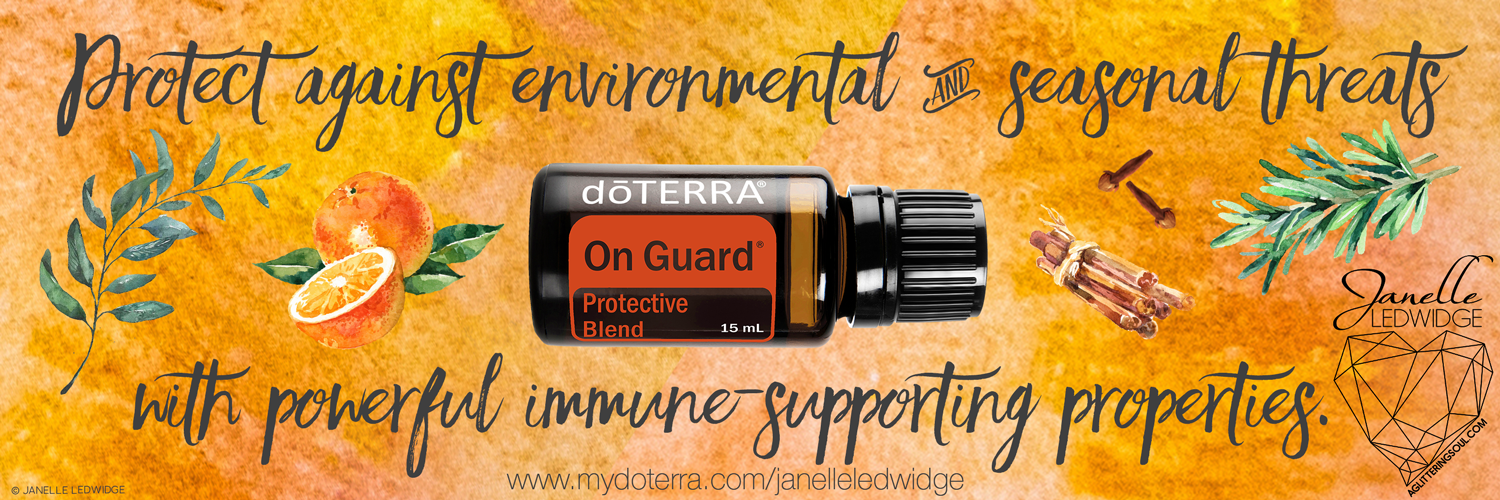 doTERRA On Guard Janelle Ledwidge Essential Oils Support Immune